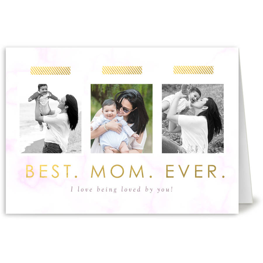Best Mom Ever Mother's Day Greeting Card