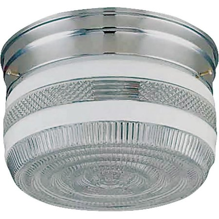 Boston Harbor Dimmable Ceiling Light Fixture With Pull Chain (1) 60/13 W Medium A19/Cfl Lamp Chrome 1 Light Ceiling Lighting
