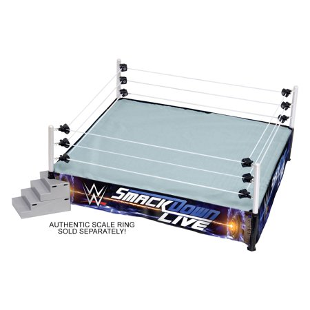 SmackDown Live - Ring Skirt - Ringside Exclusive Toy Wrestling Ring Accessory (Ring is NOT included) - Wwe Smackdown Divas Halloween