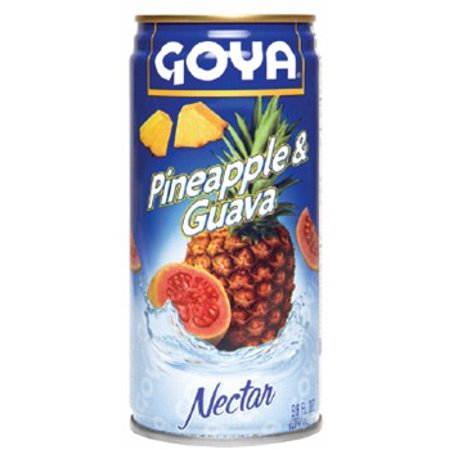 Goya Pineapple   Guava Nectar 9 6 Oz
