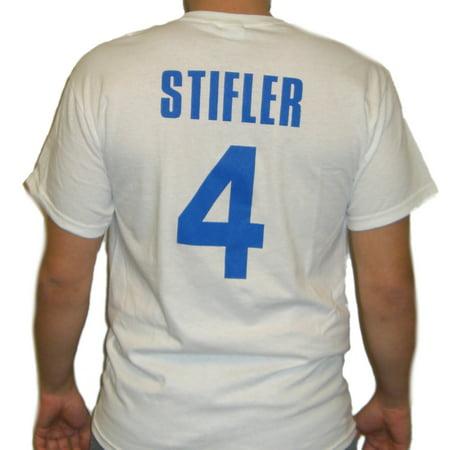 Steve Stifler American Pie Lacrosse Jersey T-Shirt East Great Falls Costume