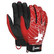 Memphis Glove Size L  Size L Mechanics Glove, Black/Red, MR100L