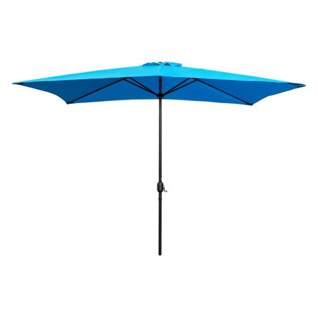 Abble 10 ft. Steel Rectangular Patio Umbrella