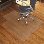 "E.S. Robbins Anchormat Hard Floor Chair Mat - 45"" x 53"" - Lip - For Hard Floors - Vinyl - 1 Each"