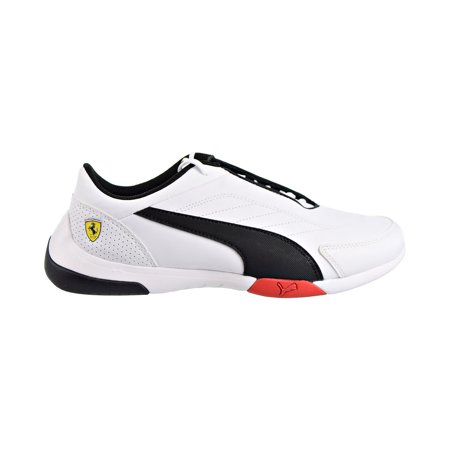 Puma Scuderia Ferrari Kart Cat III Mens Shoes Puma White/Puma Black 306219-03