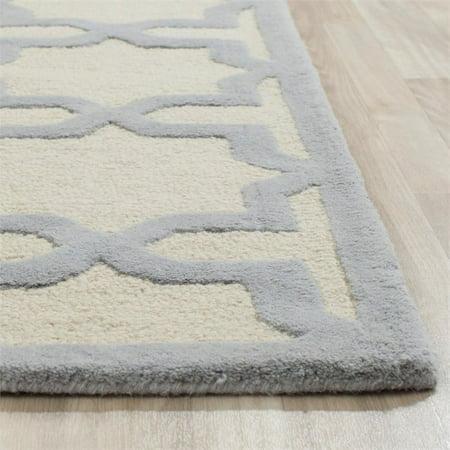 Safavieh Cambridge 6' Round Hand Tufted Wool Rug - image 4 of 9