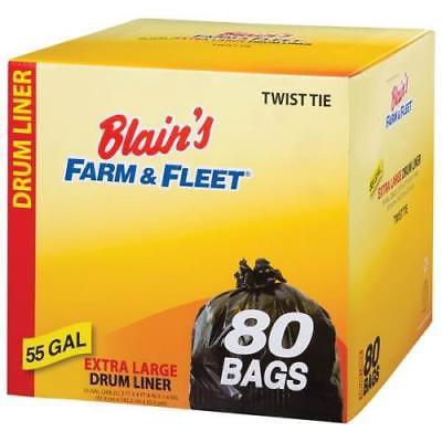 Blain's Farm & Fleet Black 55 Gallon Drum