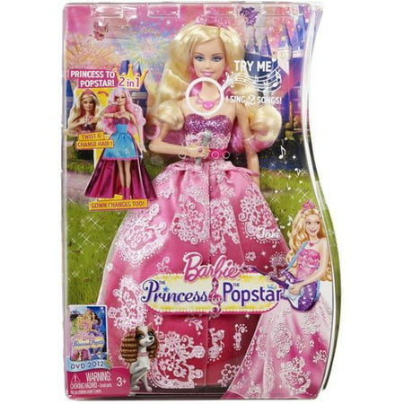 Tori Spelling Necklace - Barbie: The Princess and the Popstar 2-in-1 Doll, Tori Doll