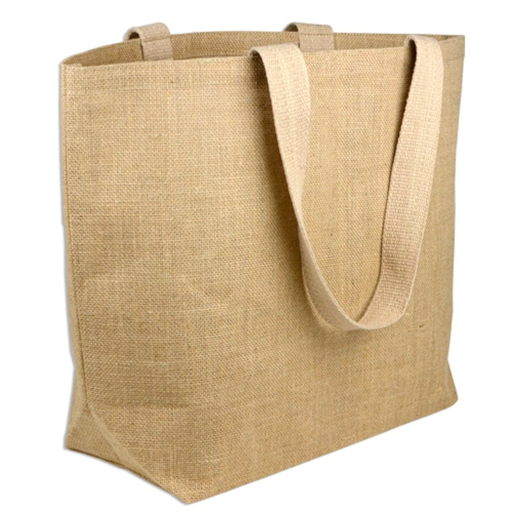 Large Eco-Friendly Jute Bag Burlap Beach Totes