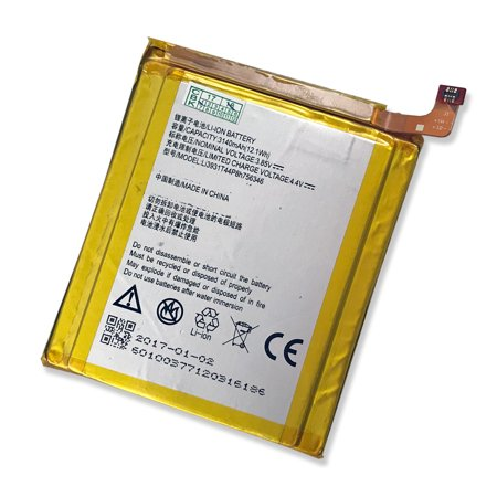 New LI3931T44P8h756346 Battery Replacement For ZTE GRAND X 4 Z956, ZTE AXON7 7 A2017 3140mAh (Best Replacement Battery For Ztes)