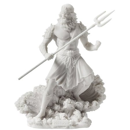 Astoria Grand Jadyn Poseidon Greek God of the Sea with Trident - Buy Poseidon Trident