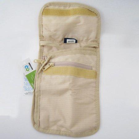 Smooth travel talus pouch neck strap bag id money passport hidden pocket secret wallet travel for Travel gear hidden pocket