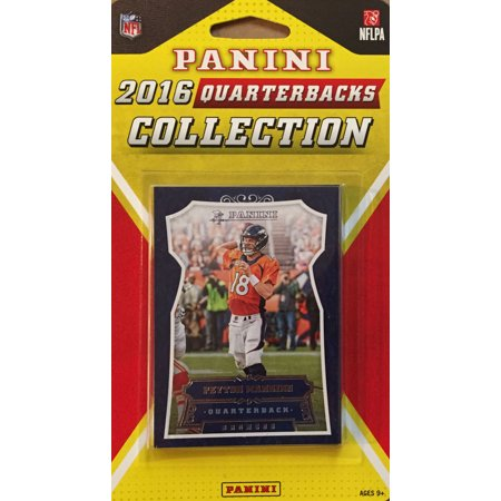 2016 Panini NFL Football Quarterbacks Collection Special Edition Factory Sealed 10 Card QB Set Including Peyton Manning, Tom Brady, Russell Wilson, Aaron Rodgers and