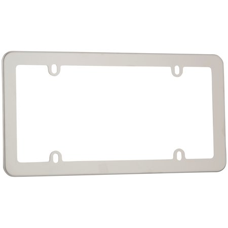 - Cruiser Accessories® Stainless⢠Stainless Steel License Plate Frame