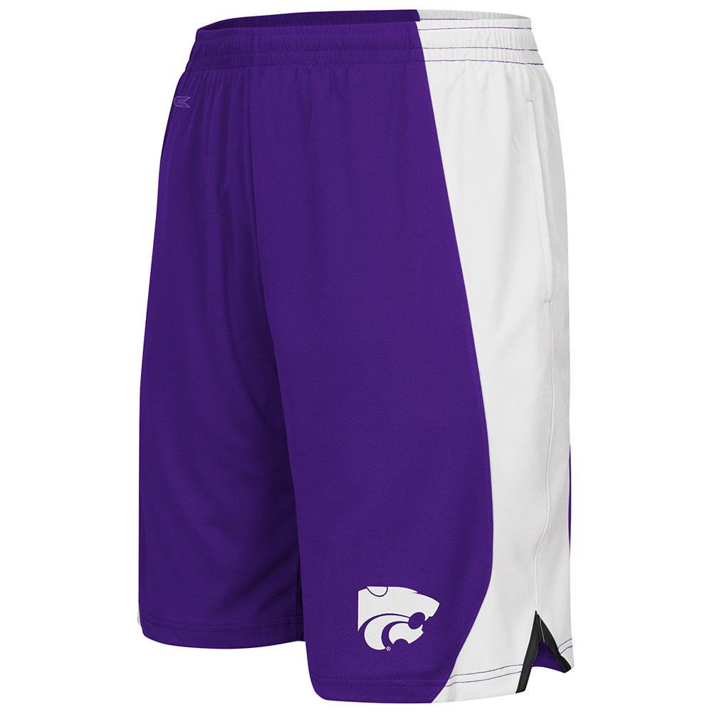 Youth NCAA Kansas State Wildcats Basketball Shorts (Team Color)