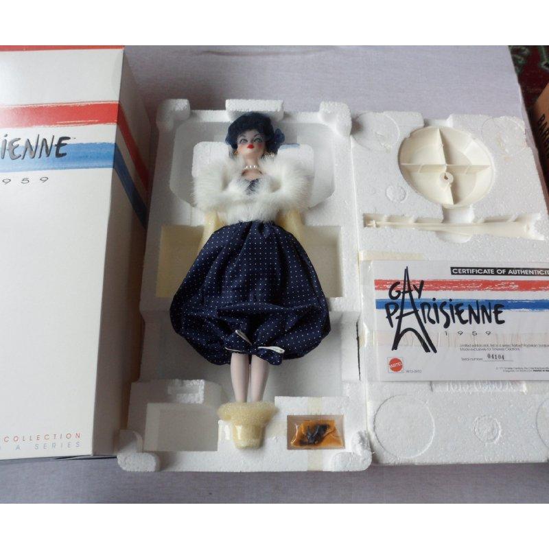 Mattel Gay Parisienne Porcelain Barbie