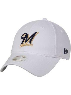 2a675e58844 Product Image Milwaukee Brewers New Era Women s Preferred Pick 9TWENTY  Adjustable Hat - White - OSFA