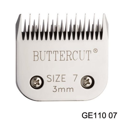 Geib Stainless Steel Buttercut Grooming Blades High Quality Durable Ultra Sharp (# 7 Skip Tooth = 1/8