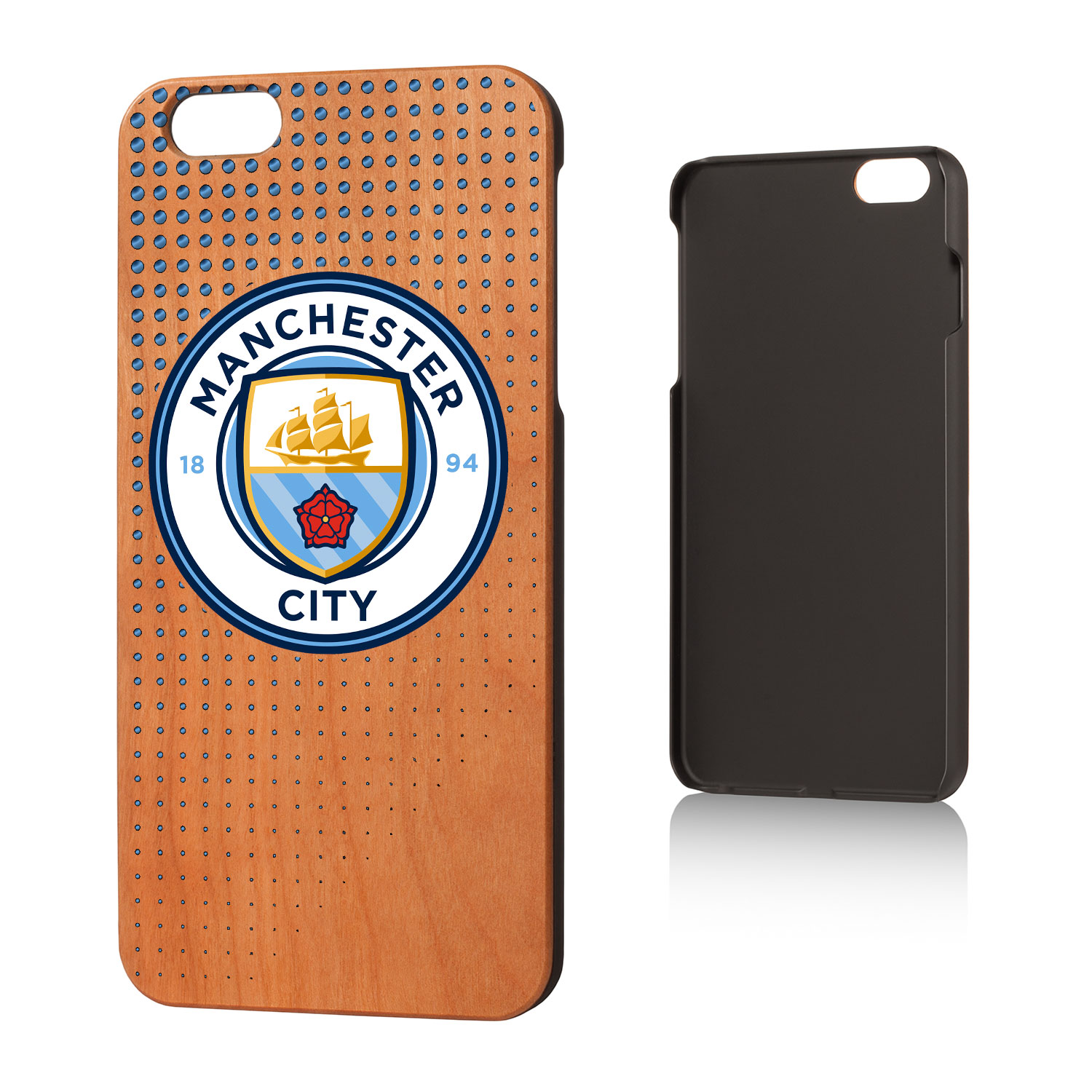 Manchester City Manchester City Dots Cherry Case for iPhone 6 Plus