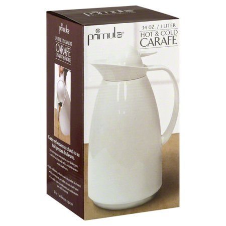 Epoca Primula 1 Liter Thermal Carafe White PECS-5310