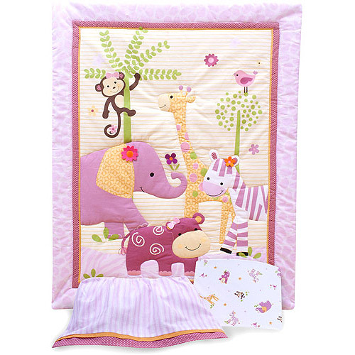 Bedtime Originals by Lambs & Ivy - Lil' Friends 3pc Crib Bedding Set