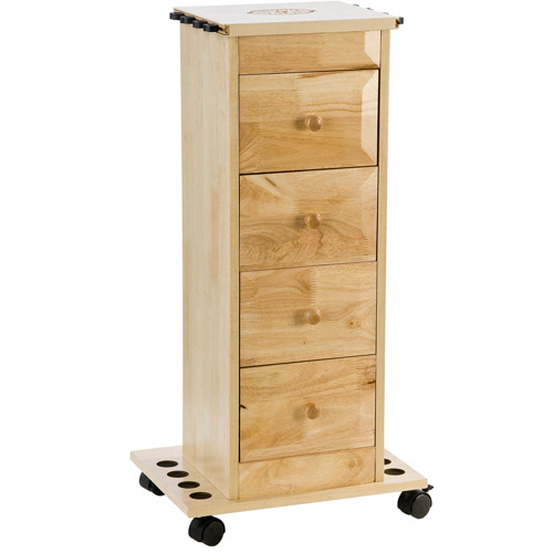 Organized Fishing Narrow Floor Cabinet with 4 Drawers