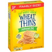 Nabisco Wheat Thins Crackers Reduced Fat, 14.5 Oz
