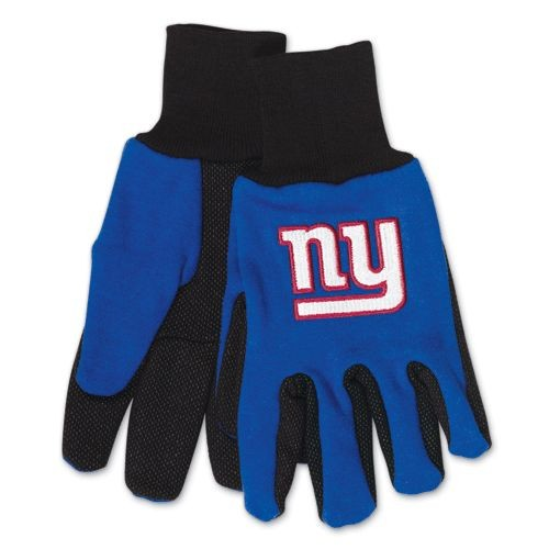 NFL New York Giants Two-Tone Gloves, Blue Black by Wincraft