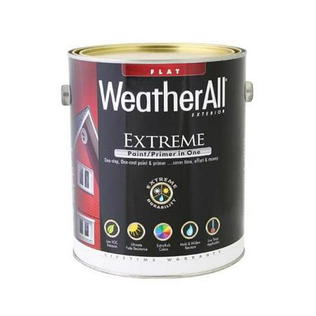 True Value Mfg Waef17 Gl Premium Extreme Exterior Paint Primer In One Waef 17 Flat Tudor Brown Gallon Quany 4