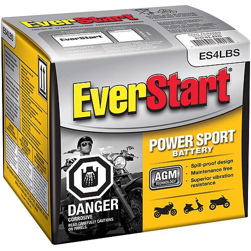 EverStart PowerSport Battery, ES-4LBS