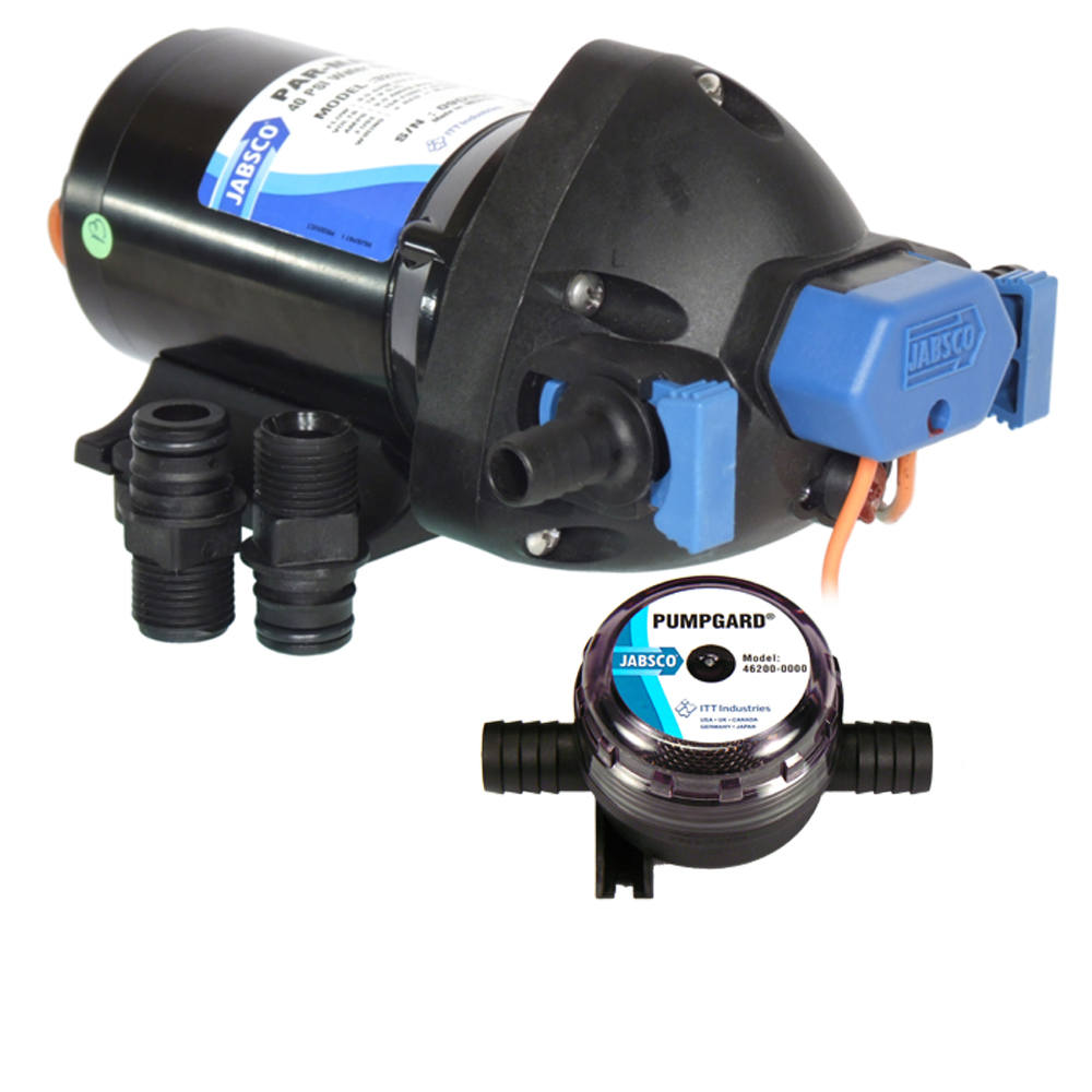 Jabsco 32601-0092 12V 3.5 GPM Par Max Shower Drain Pump