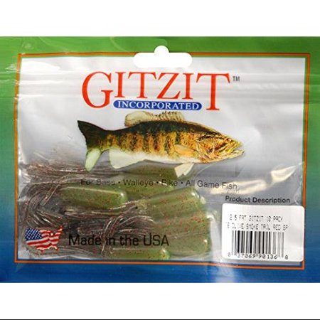 Gitzit fat tube lure for Walmart fishing spinners