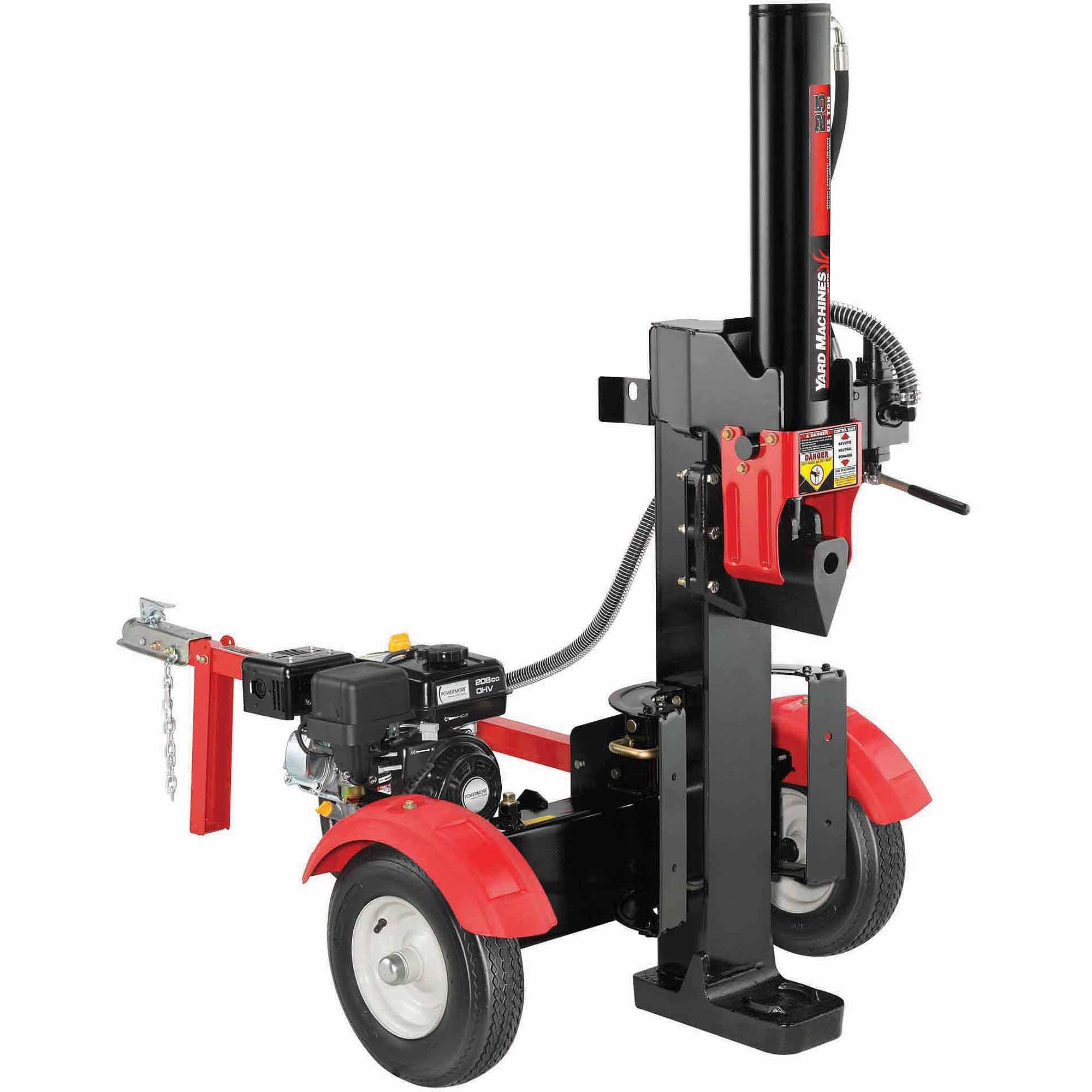 mtd yard machine log splitter 20 ton