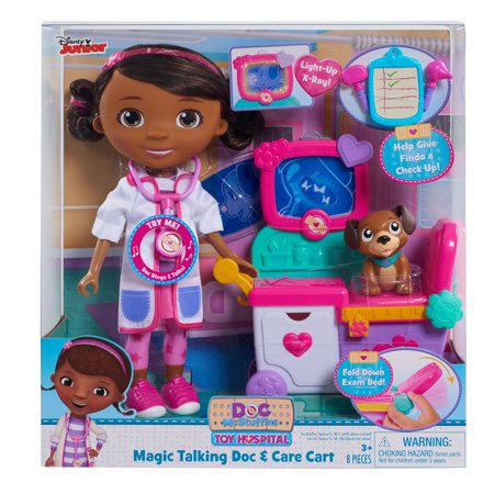 Doc McStuffins - Magic Talking Doc & Care Cart