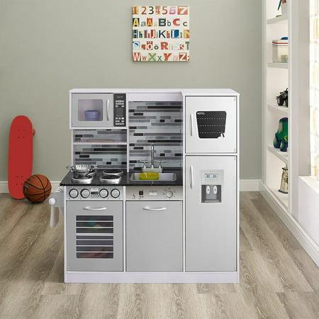 Naomi Kids Gourmet Kitchen Set-Color:White
