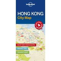 Hong kong city map - folded map: 9781786574121