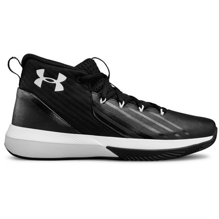 Boy's Under Armour BPS Lockdown 3 Basketball Shoe (Under Armour Basketball Bag)