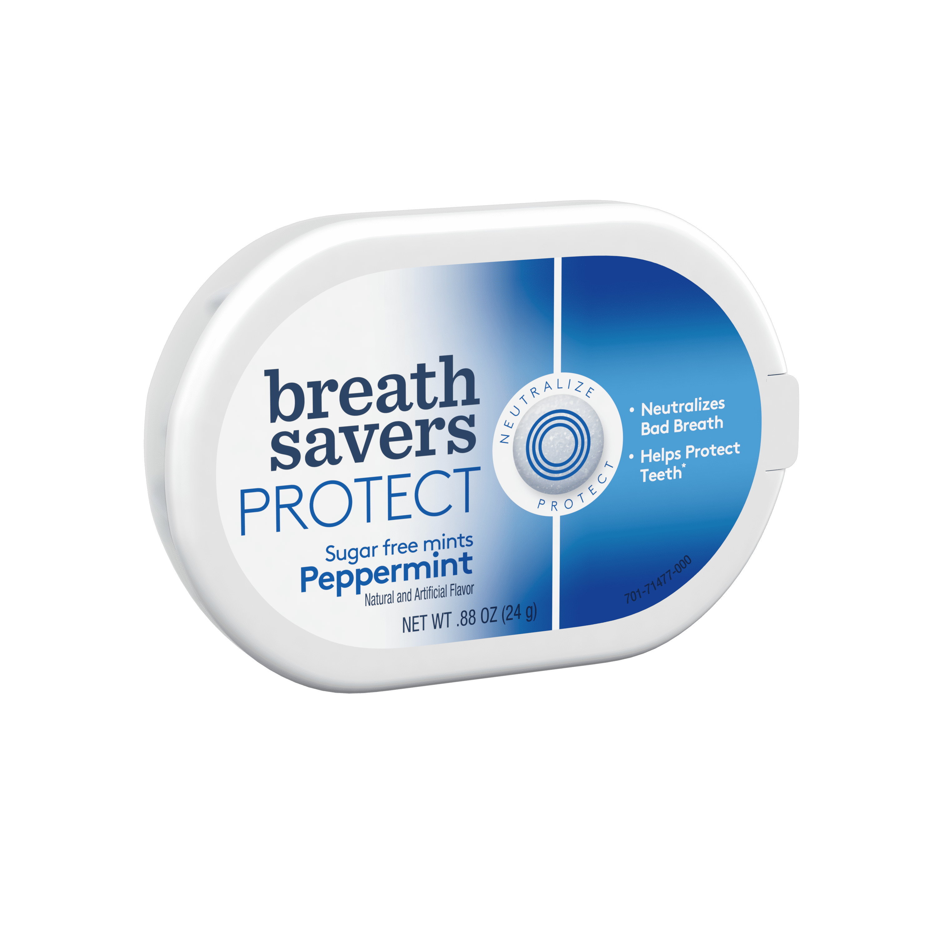 BREATH SAVERS PROTECT Mints in Peppermint Flavor, .88 oz by The Hershey Company