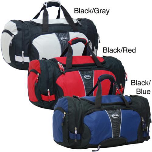 CalPak Field Pak 24-inch Travel Duffel Bag black/red