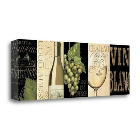 Art Nouveau Cabinet (Tangletown Fine Art 'Chateau Nouveau Panel II' Graphic Art Print on Wrapped Canvas)