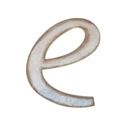 Distressed Alphabet SM Letter e
