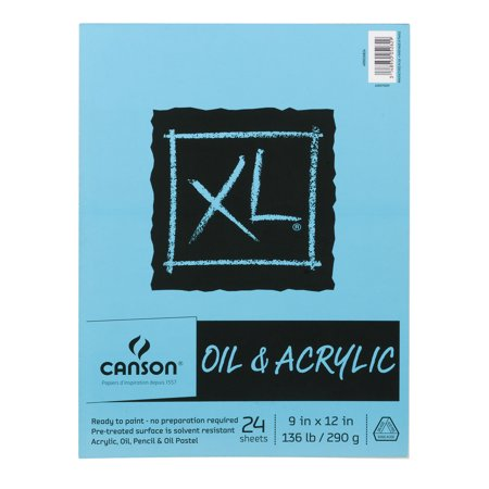 Canson XL Oil & Acrylic Paint Sheets - 24 CT