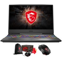 """MSI GP65 Leopard 10SEK-048 Gaming and Entertainment Laptop (Intel i7-10750H 6-Core, 16GB RAM, 512GB SSD, 15.6"""" Full HD (1920x1080), NVIDIA RTX 2060, Wifi, Win 10 Home) with Gaming Mouse , Loot Box"""