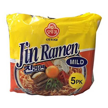 Ottogi Korean Ramen Family Pack (Mild, 1 Pack)