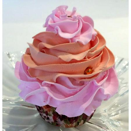 Fake Cupcake Vintage Rose Gold Cupcake Faux Cupcake- Decoraton Prop Dezicakes](Rose Cupcakes)