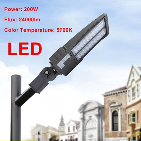 Shoe Led Angle Light 200w Lot Lamp Adjustable Garden Street Box Parking 354RjAL