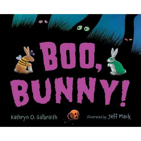 Boo, Bunny! (Board Book) (Booed Halloween Poems)