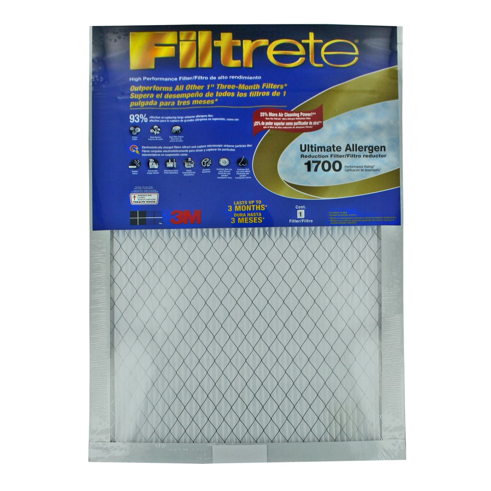 3M UA00DC-6 Filtrete™ Ultimate Allergen Reduction Filters - 6 Pack
