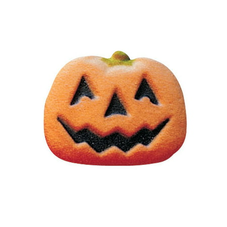 Pumpkin Face Sugar Decorations Toppers Cupcake Cake Cookies Halloween Party Favors 12 Count](Pumpkins Faces Halloween)
