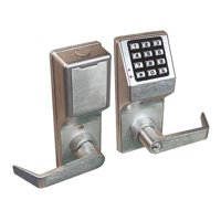 LOCDOWN DL4100IC US26D Electronic Lock,Brushed Chrome,12 Button